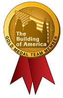 The Building of America Gold Medal Team Member